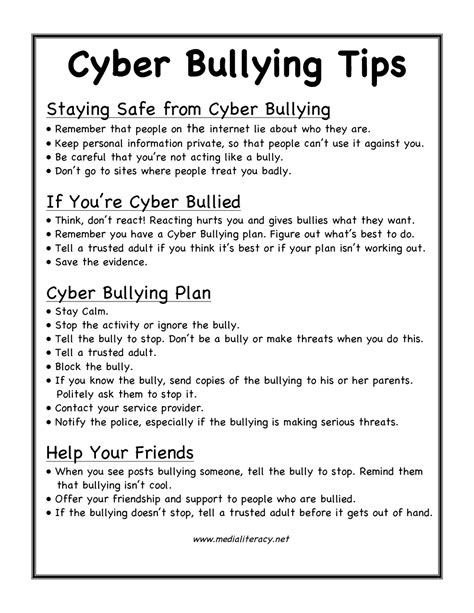 ten tips to prevent cyberbullying the anti bully blog september 2011 the anti bully blog