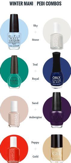 21 amazing manicure and pedicure color combos for spring cute nail polish combos for your fingers and toes pedi