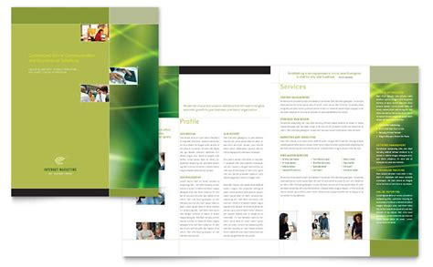 advertising brochure templates free marketing brochure template word publisher