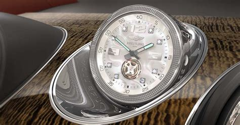 bentley breitling clock bentley offering s most expensive in car clock