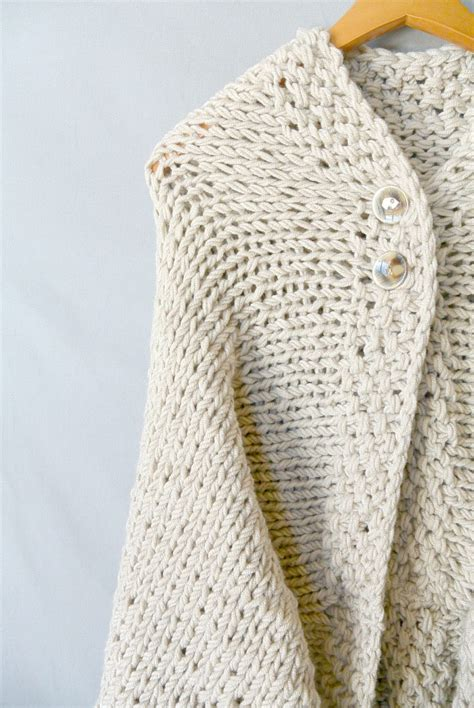 how to knit after on easy knit blanket sweater pattern in a stitch