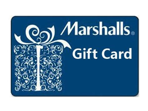 Marshals Gift Card - card coupons 2017 2018 best cars reviews