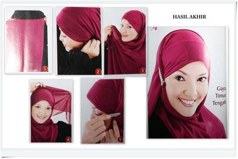 Jilbab Turki Kerudung Pesta 96 store co id cara mengenakan kerudung pesta gaya timur