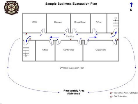 floor plan of a business city of medford oregon business evacuation plan