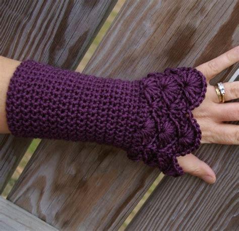 pattern crochet hand warmers crocheted hand warmers crochet and a little knitting