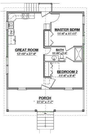 free cottage house plans the cottage free plans from vaughan s home design llc