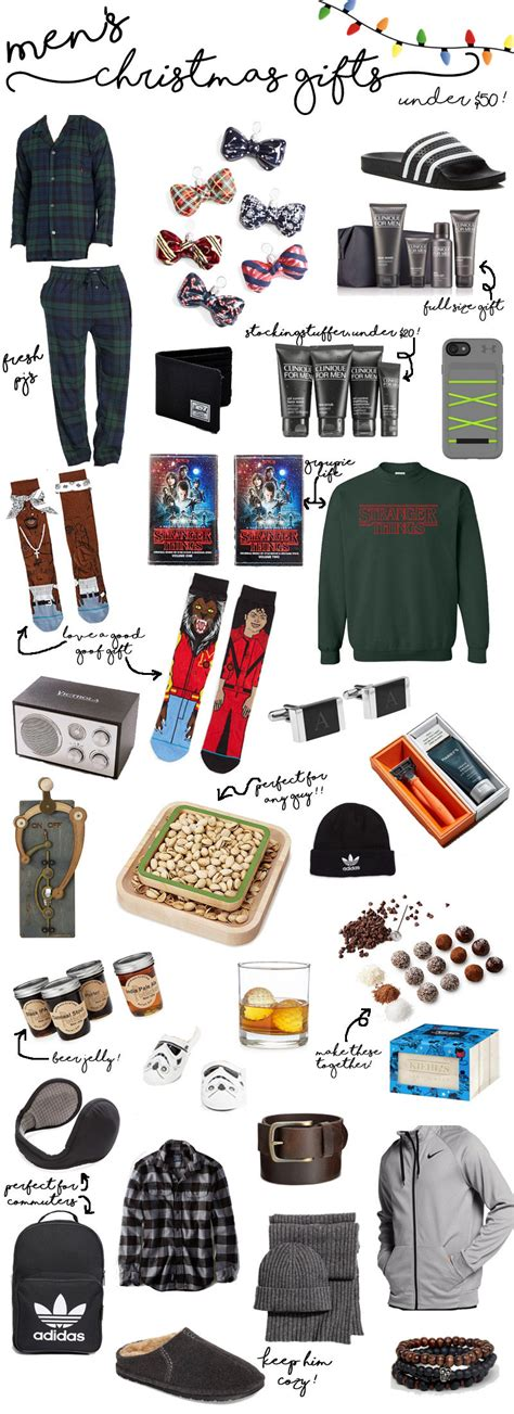 men s holiday gifts under 50 dollars simply by simone