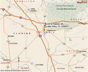 map of lake city florida lake city va center florida south