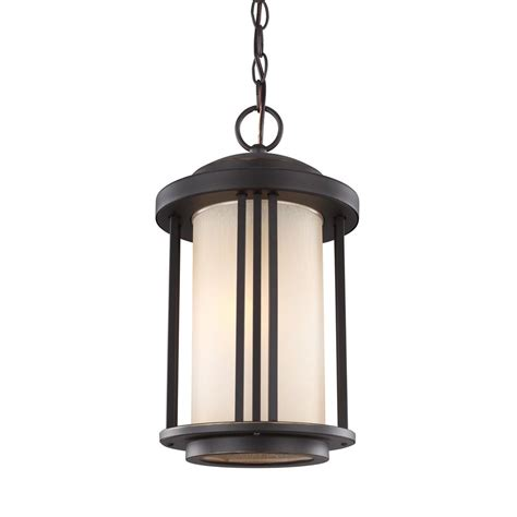 Outdoor Swag Lights Sea Gull Lighting Classico 3 Light Antique Bronze Outdoor Hanging Pendant 60081 71 The Home Depot