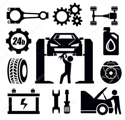 clipart vectors car repair icon stock vector 169 bioraven 24676107