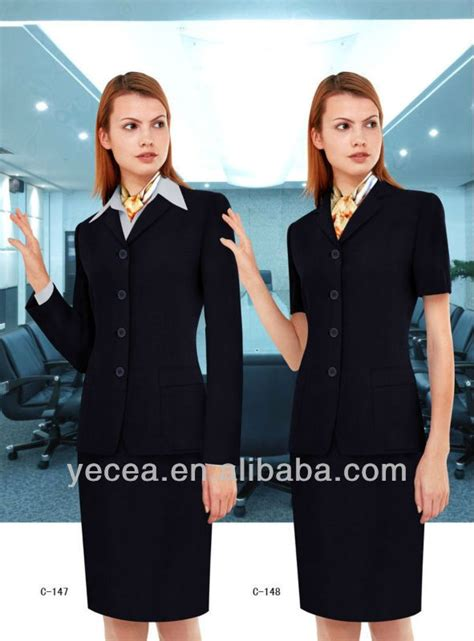 hotel front desk uniforms customized hotel front office uniform products and pictures