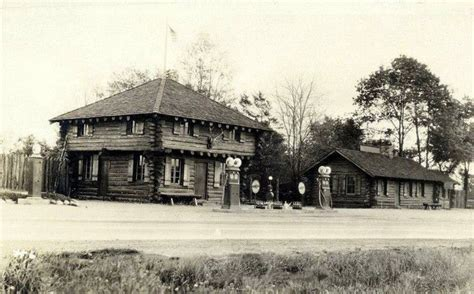 Log Cabin Restaurant Pa by Gas Station And The Log Cabin Restaurant Borough Of