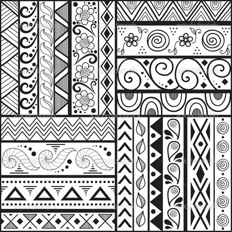 pattern drawing design easy cool patterns easy craft ideas