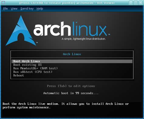 tutorial linux framebuffer archlinux 2010 05 vm installation guide