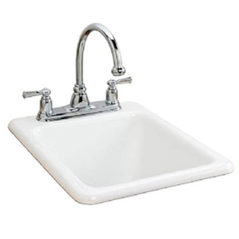 shop american standard white heat 3 single basin