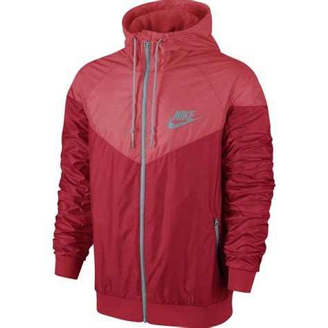 Jaket Parasut Nike Jaket Running Nike Jaket Windrunner Merah Hitam nike windrunner mens running jacket sportitude