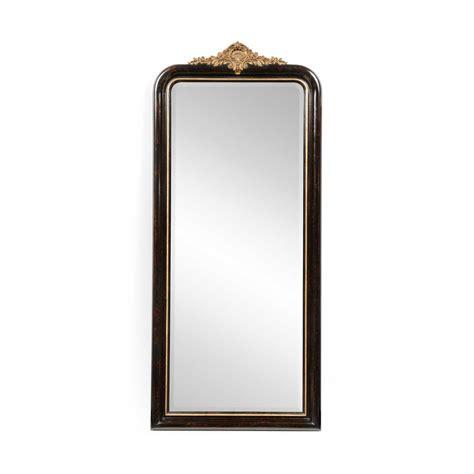 black mirror length full length black mirror gilded french style swanky