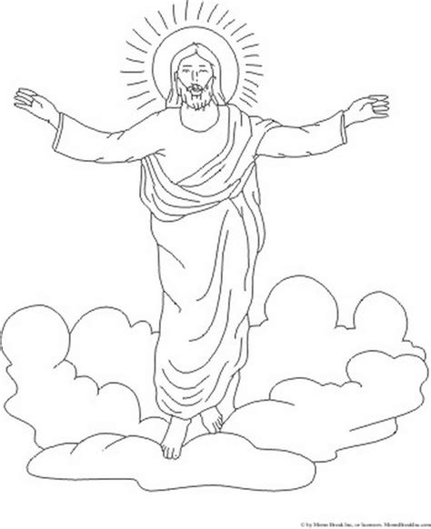 free coloring pages jesus ascension heaven coloring pages az coloring pages