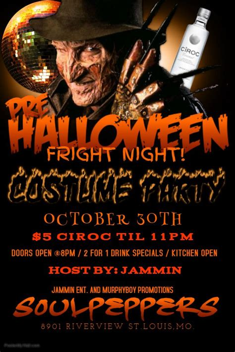 templates for halloween flyers 63 best halloween party flyer templates images on