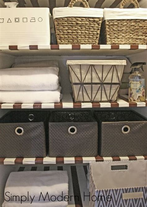 organize towels linen closet 280 best images about home linen closet on