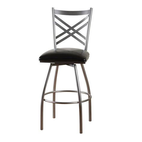 Lowes Shop Stool by Shop American Heritage Billiards Silver 24 In