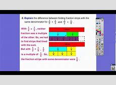 Addition with Unlike Denominators - Lesson 6.1 - YouTube Lesson 6.1 Homework