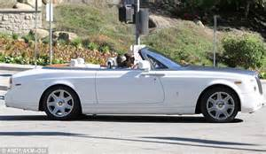 Kanye Rolls Royce Kanye West And In To Be Disick Shop