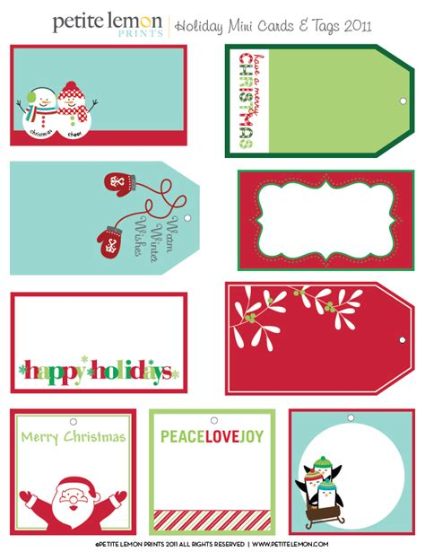 free printable christmas card labels 6 best images of free printable christmas gift tags round