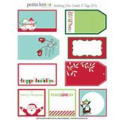 6 Best Images Of Free Printable Christmas Gift Tags Round