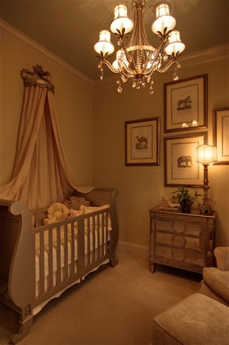 mirrored dresser for baby room elegant baby s nursery with mirrored furniture and sleigh