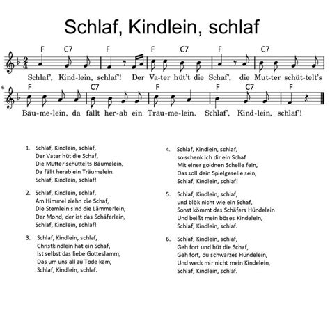 text schlaf kindlein schlaf top 4 traditional german lullabies sung today