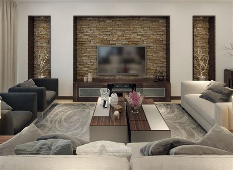 stone wall living room 30 gorgeous living rooms with stone walls interiorcharm