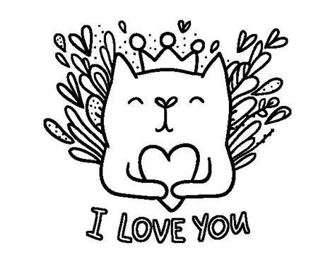 imagenes del video i don t love you dibujo de mensaje de amor para colorear dibujos net
