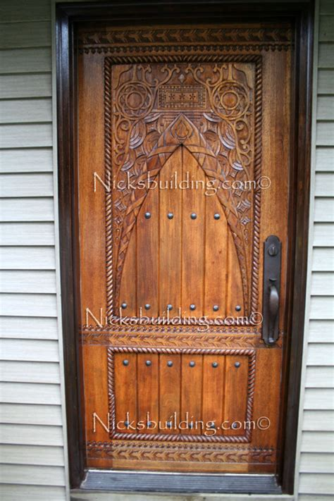 Carved Exterior Doors 1000 Images About Doors And Things On Hinges Decorative Hinges And Irons