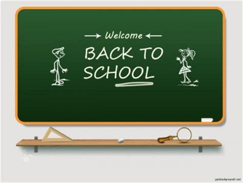 free back to school 2014 2015 backgrounds for powerpoint