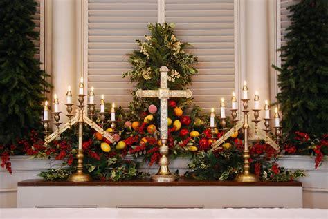 christmas themes for church decorating ideas for church altar decorations