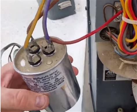 dual capacitor   single   air