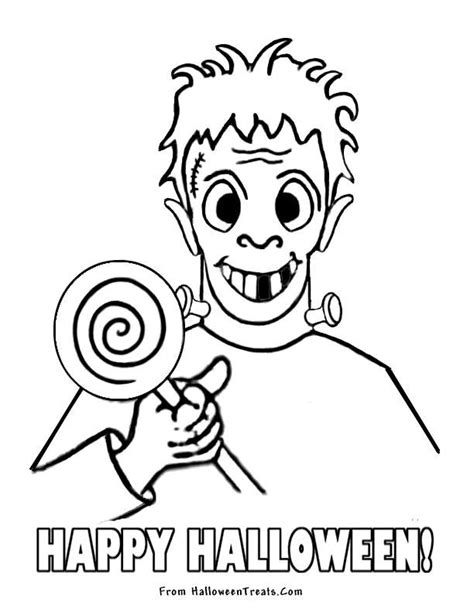 halloween coloring contest coloring home