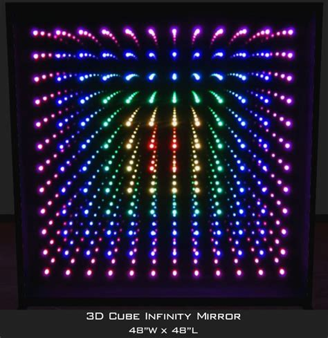 infinity mirror infinity mirror wall displays and infinity mirror tables