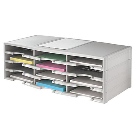 Office Depot Coupons Stackable Office Depot Brand Stackable Plastic Literature Organizer