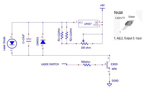 laser diode test circuit yet another diy diode laser engraver 6 steps with pictures