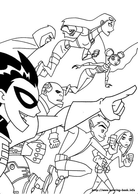 free coloring pages of teen titans go beast boy