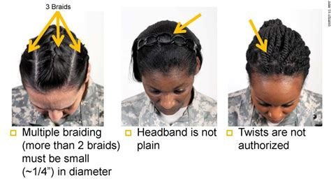 army cornrow styles army s ban on dreadlocks other styles offends some