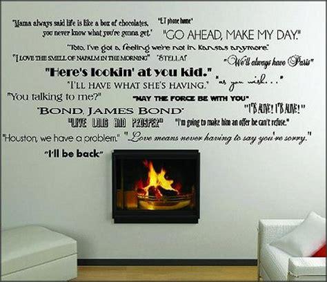 movie quotes vinyl decal wall decals disney movie quotes quotesgram