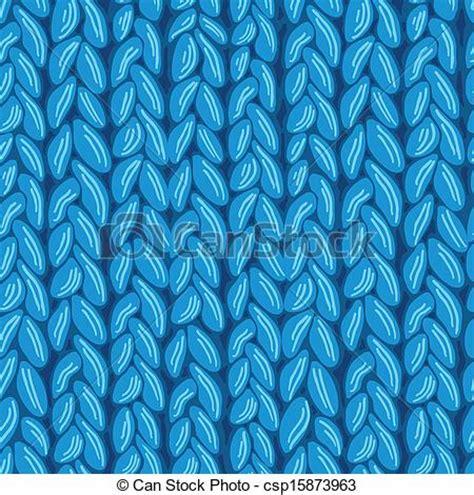 drawing knitting pattern clip art vector of knit sewater fabric seamless pattern