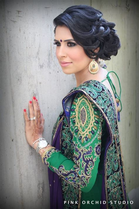 South Asian Wedding Hairstyles by Indian Wedding Hairstyles Updo