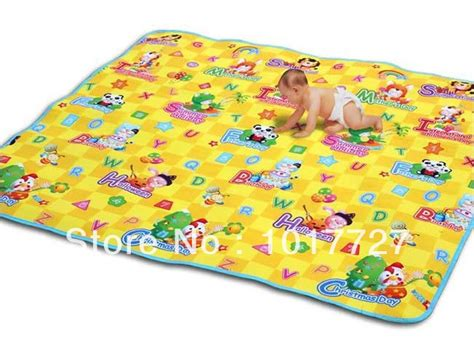 free shipping baby crawling floor mat baby game mat pvc foam waterproof baby toy educational toy jpg