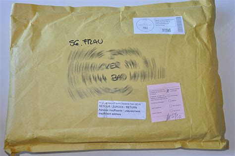 Beschriftung Warensendung by Postversand Ein Skandal Stricken Und H 228 Keln Mit Elizzza