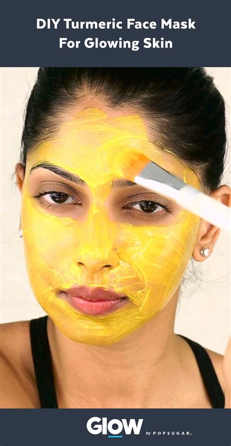 diy mask for glowing skin make this three ingredient diy turmeric mask for clear glowing skin glow