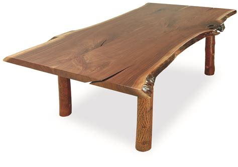 natural edge dining table old hickory furniture company an american classic liz